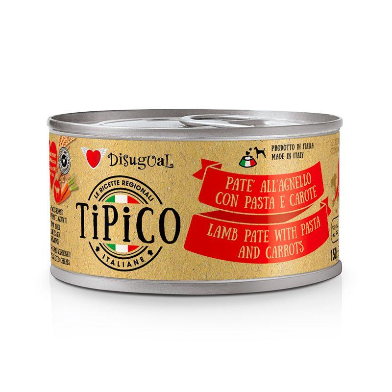 TIPICO AGNELLO CON PASTA E CAROTE 150 GR