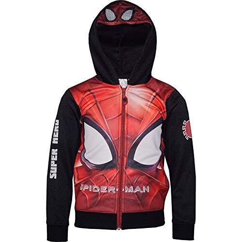Felpa Spiderman Mis. 3 anni con Cappuccio e Mascherina incorporata Inverno 2021