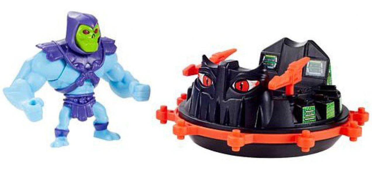 Masters of the Universe ORIGINS Minis SKELETOR + ROTON by Mattel