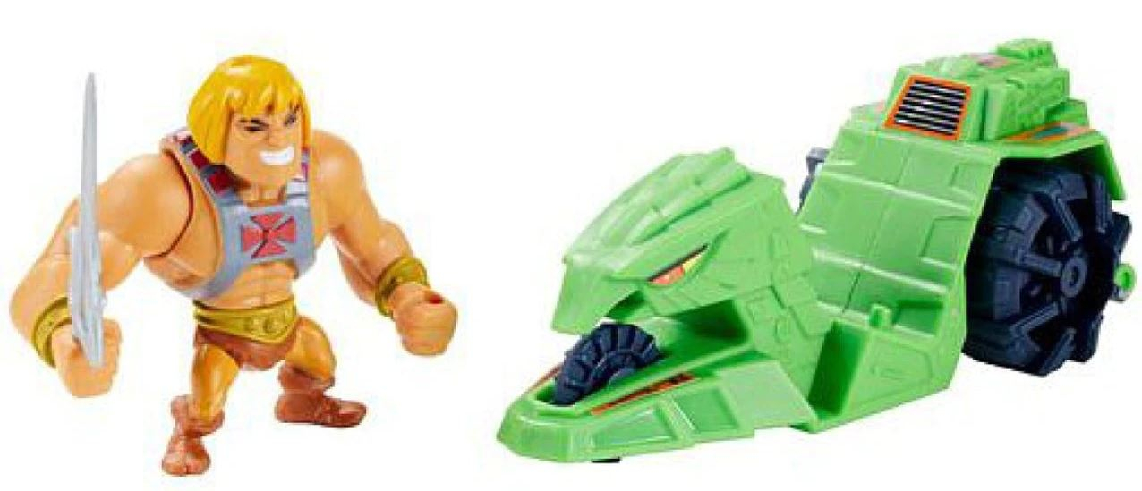 Masters of the Universe ORIGINS Minis HE-MAN + BATTLE RAM by Mattel