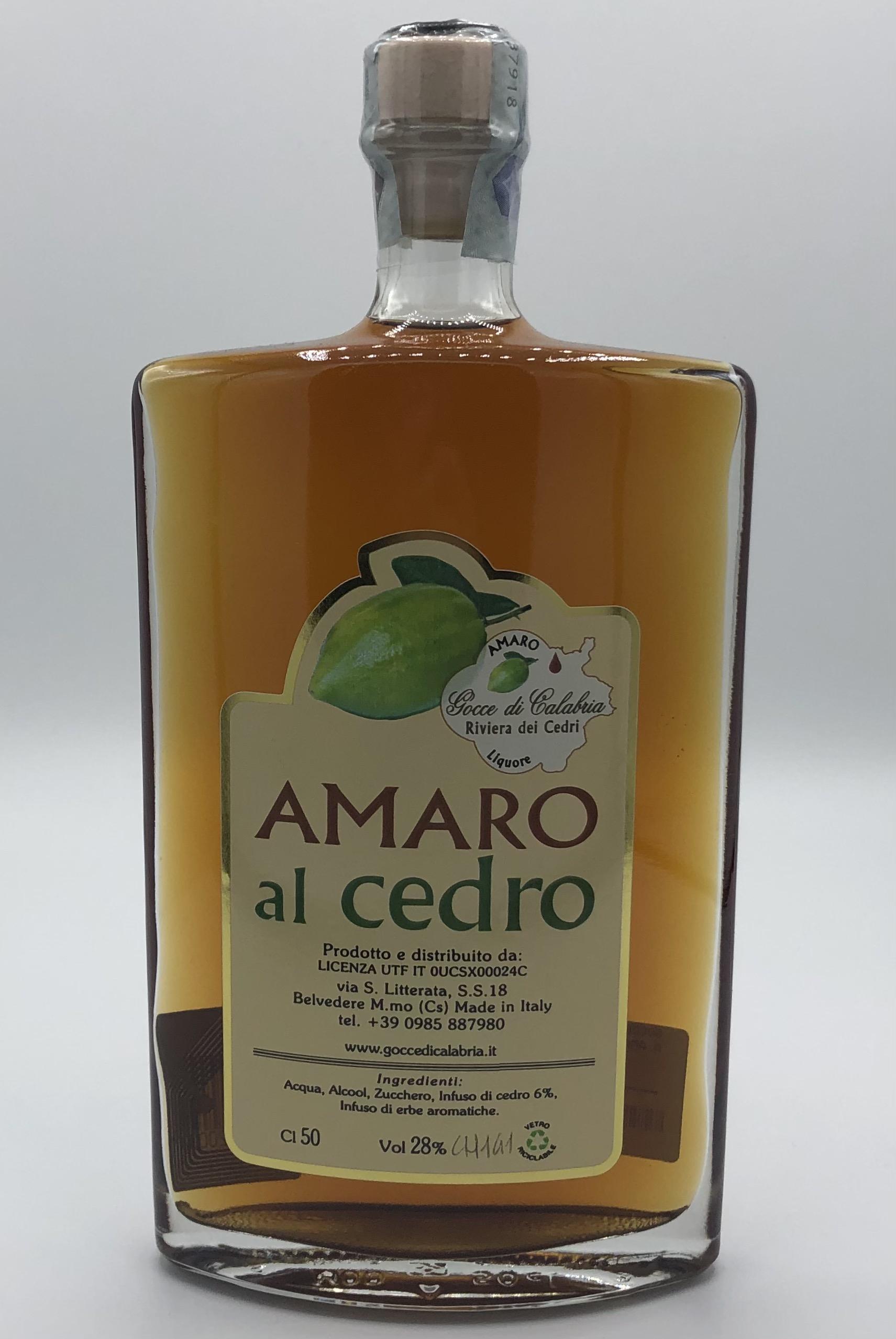 Amaro Gocce di Calabria al Cedro CL.50