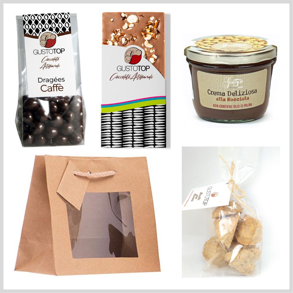 Easy Bag, piccola confezione regalo, ideale per tutte le occasioni. Idee regalo n. 11
