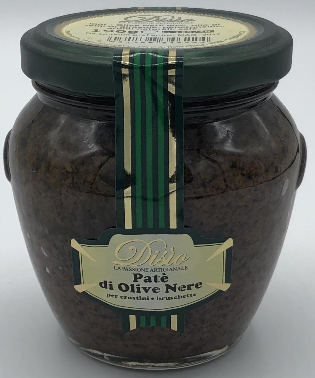 Disio Patè di Olive Nere GR.190