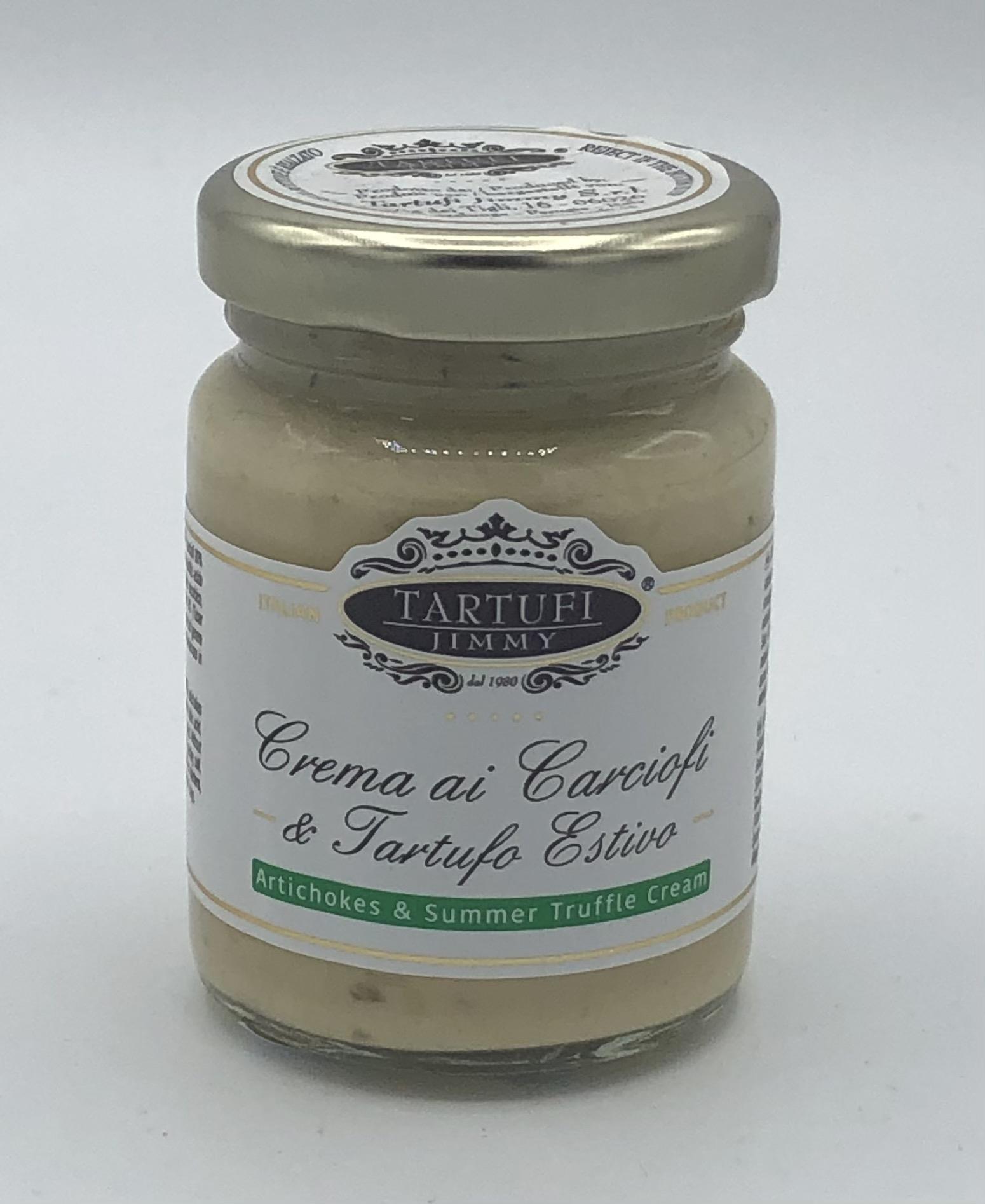 Jimmy Tartufi - Crema di Carciofi e Tartufo Estivo GR.90