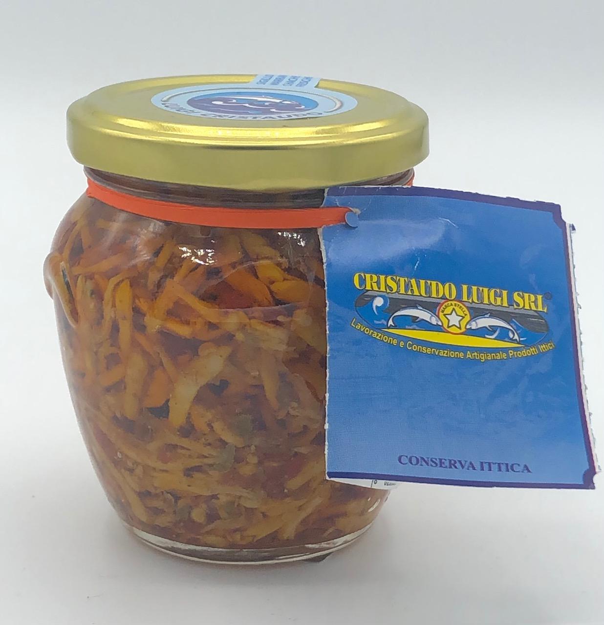 Cristaudo Capriccio di Pesce Marinato Piccante GR.200