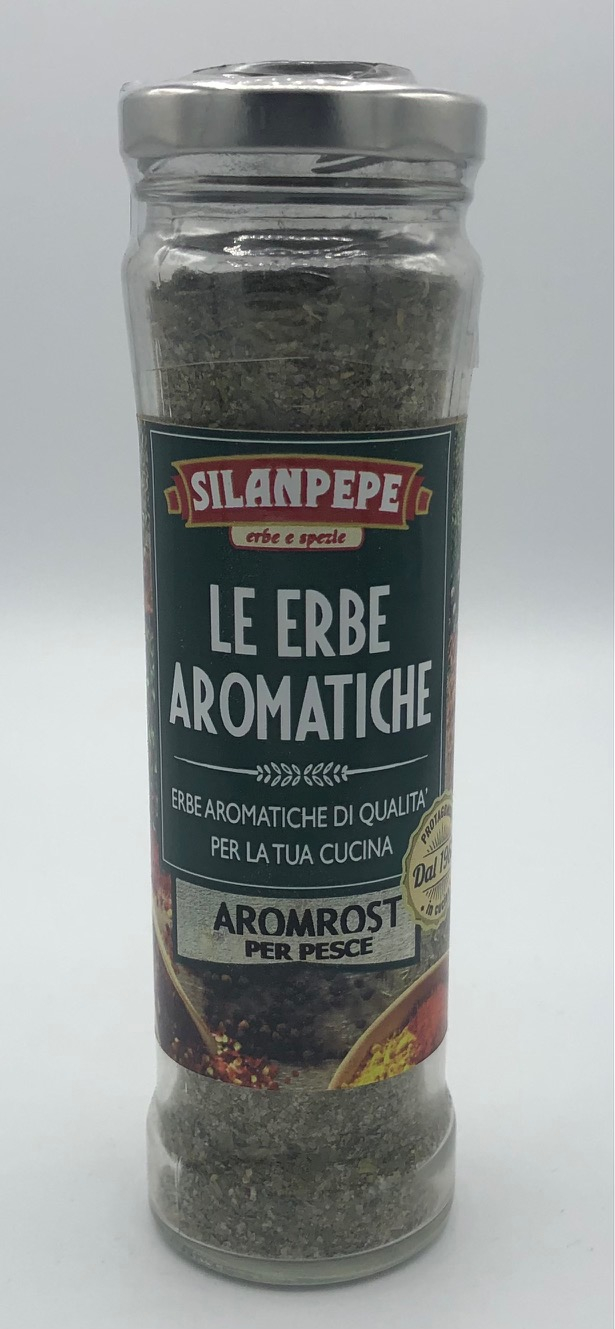 Silanpepe Aromrost per Pesce GR.160
