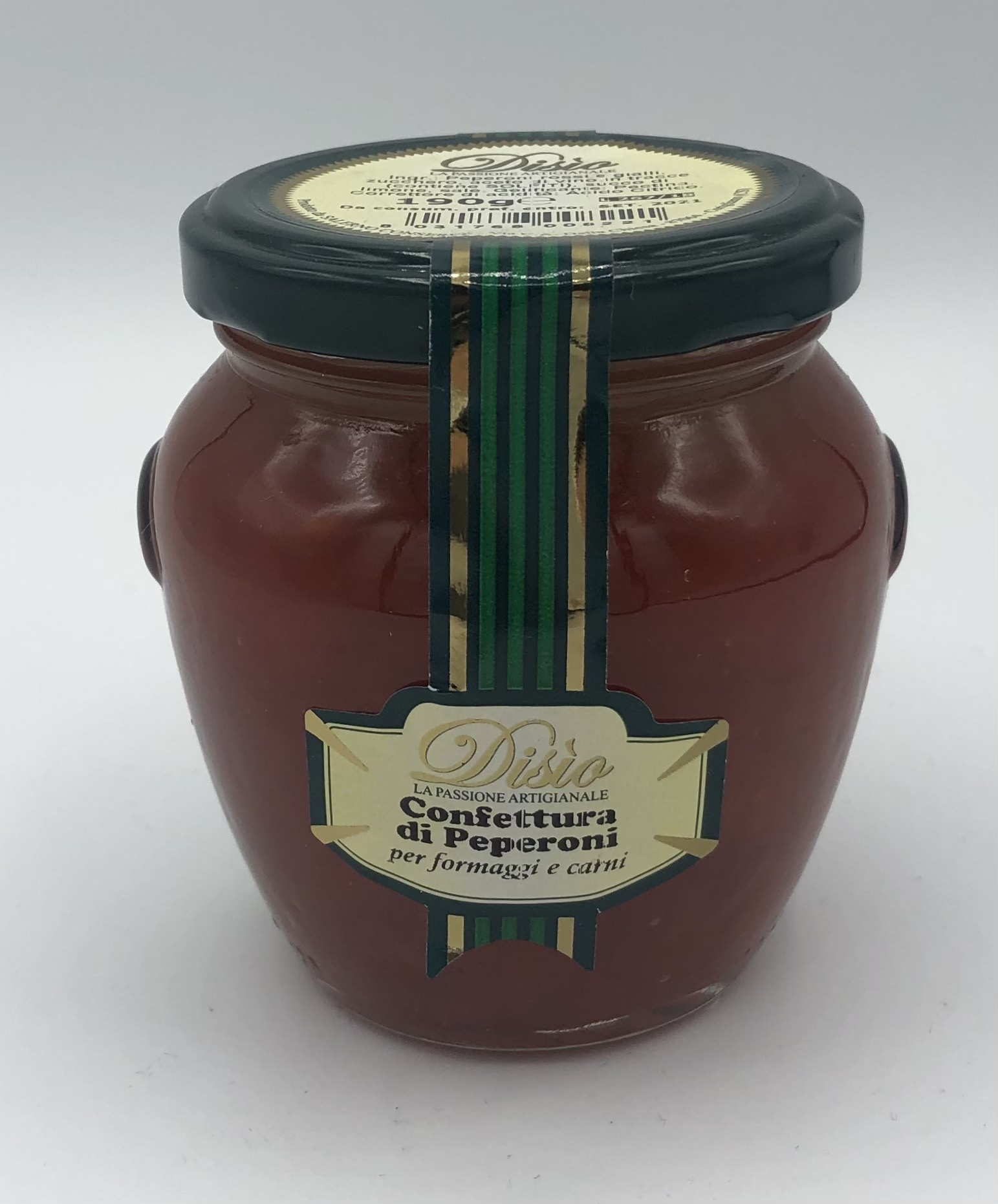 Disio Confettura di Peperoni (per formaggi e carne) GR.190