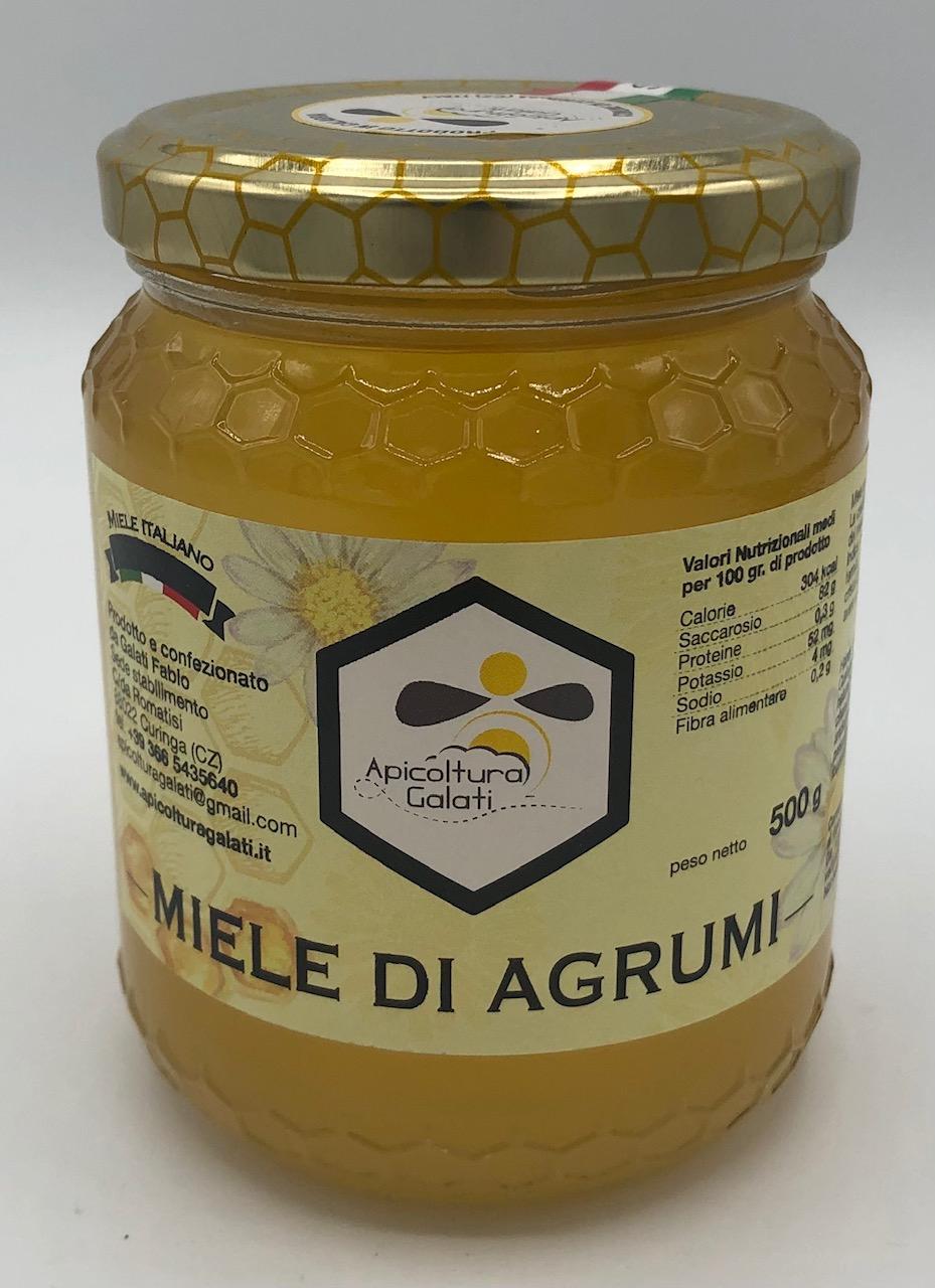 Apicoltura Galati miele di Agrumi GR.500