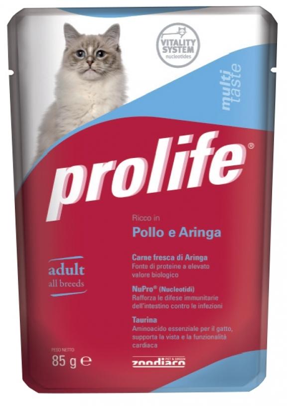 PROLIFE GATTO POLLO E ARINGA UMIDO 85G