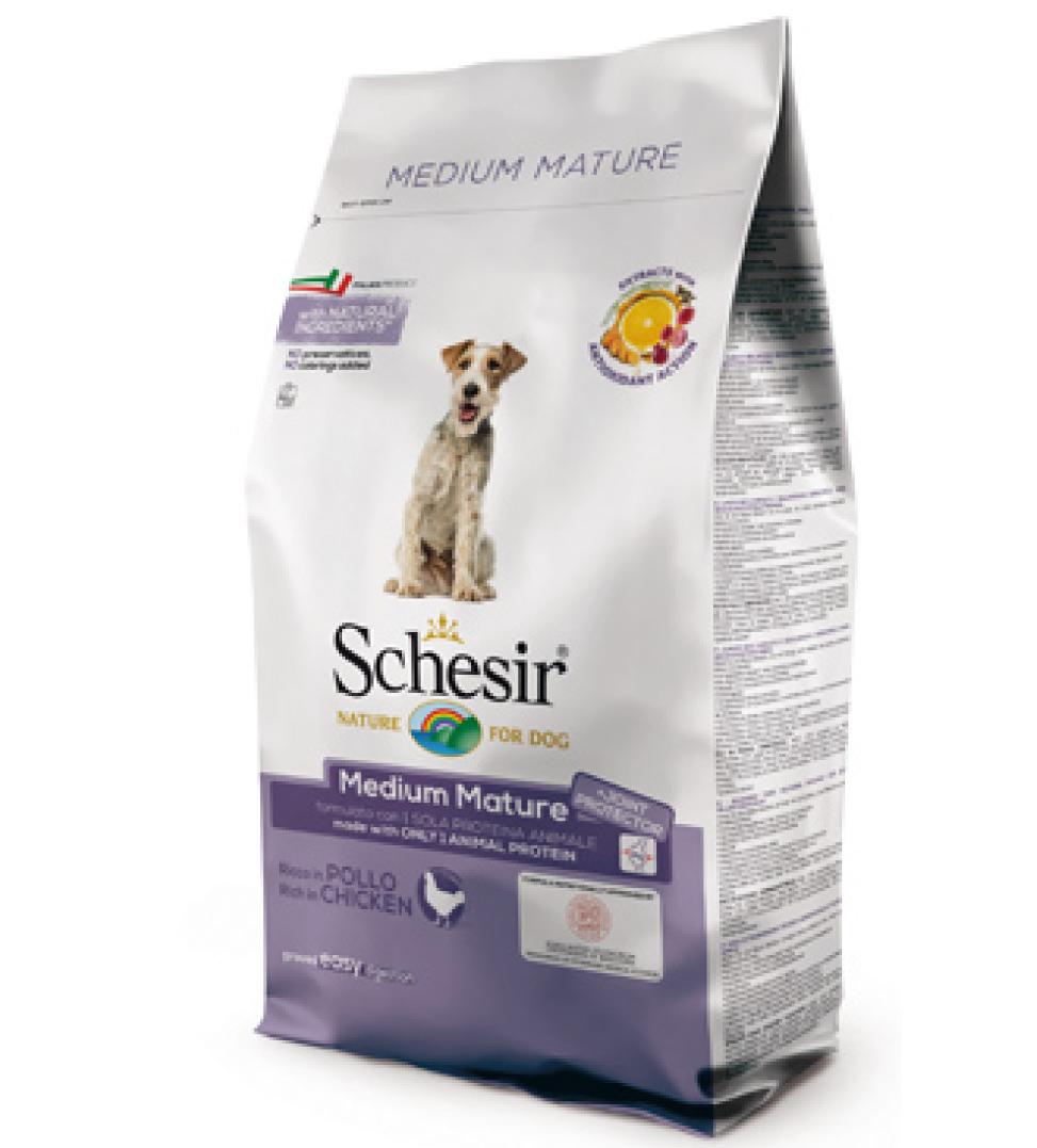 Schesir - Medium Mature - Pollo - 3 kg