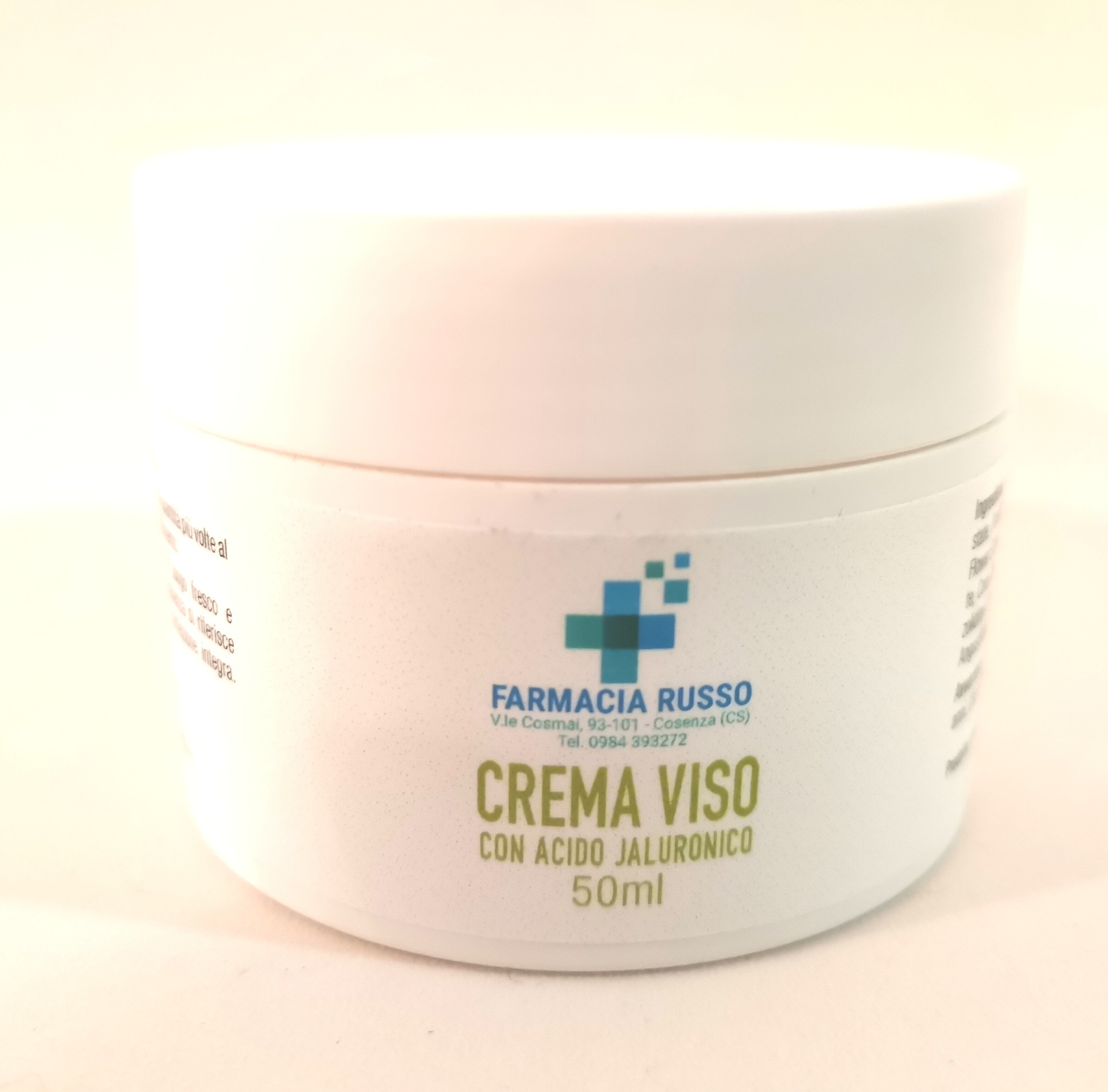 CREMA VISO E COLLO ACIDO IALURONICO 50 ML