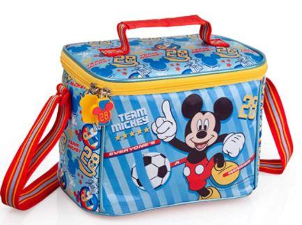 Borsa termica Topolino Disney Tempo Libero Viaggio Scuola Bambino 22 CM