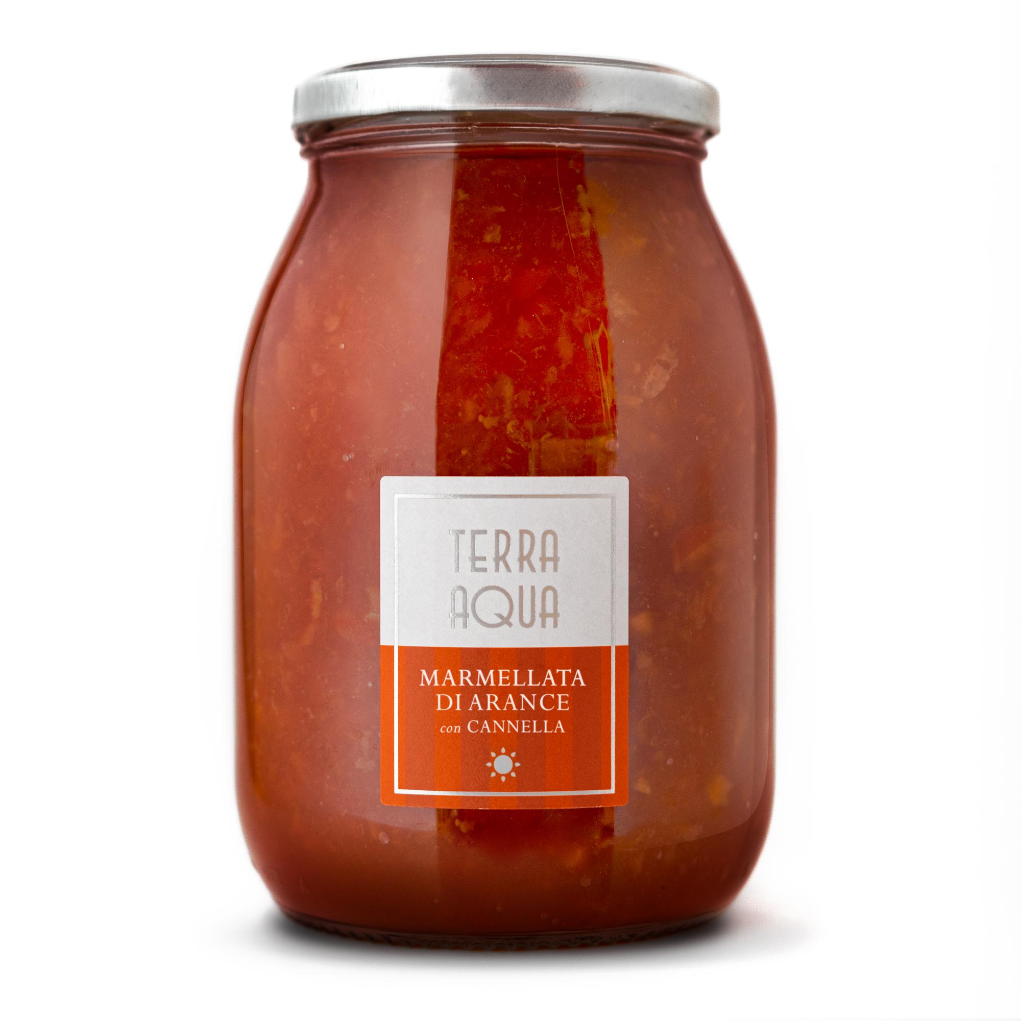 Marmellata di Arance Tarocco con Cannella | Peso netto 1200g |