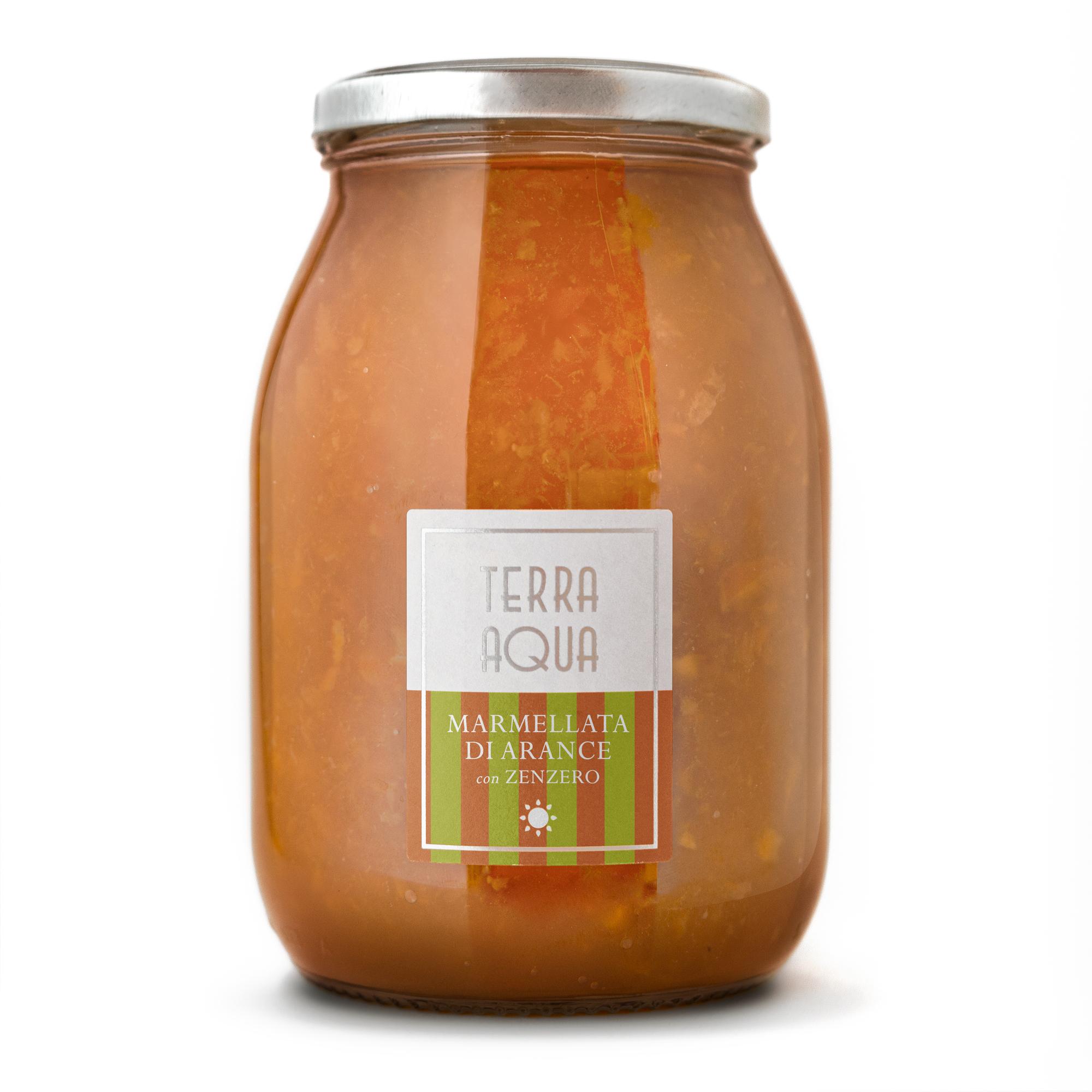 Marmellata di Arance Tarocco con Zenzero | Peso netto 1200g |