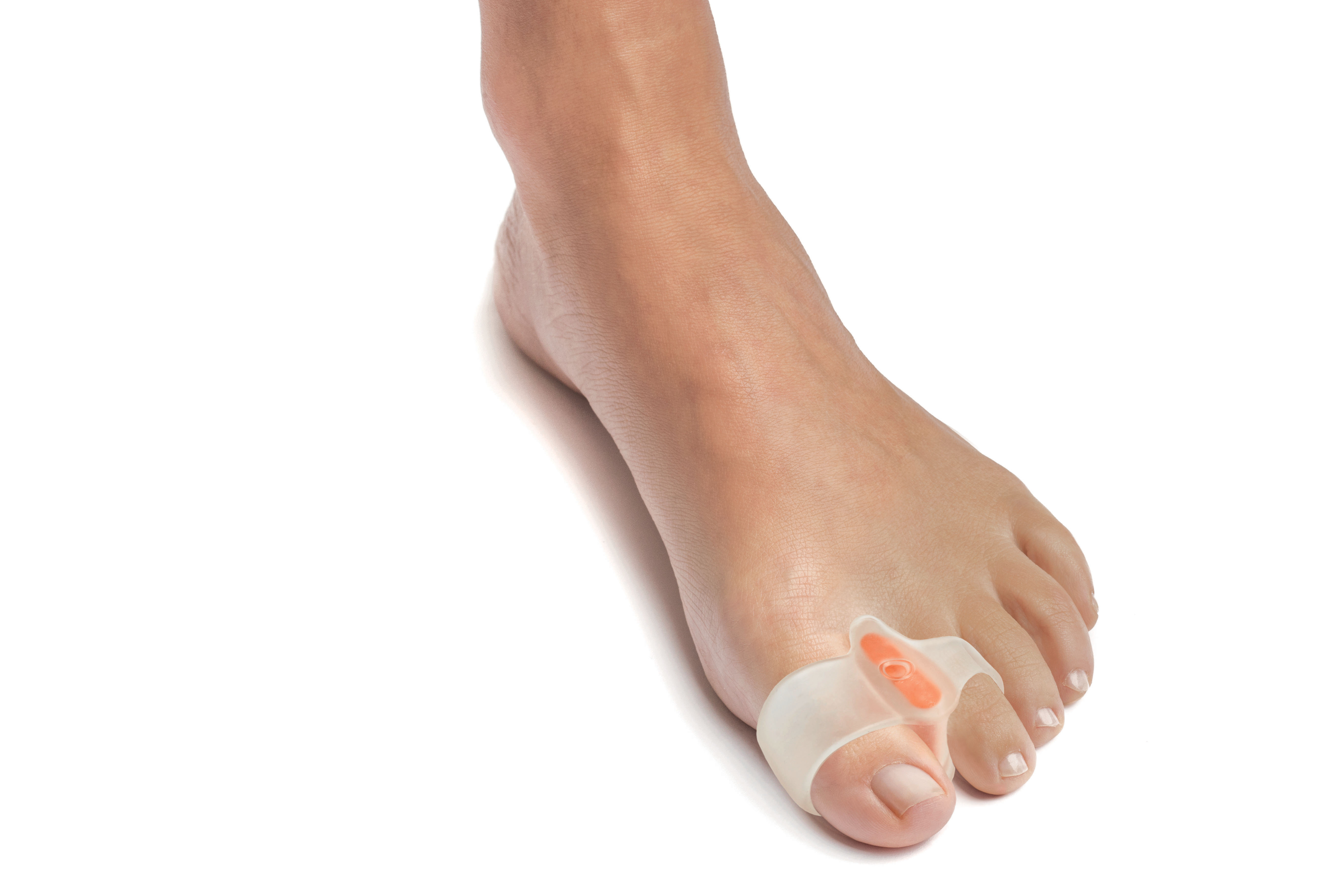 Custom double looped big toe corrector