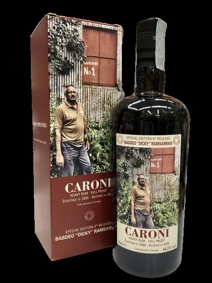 Rum CARONI Employees