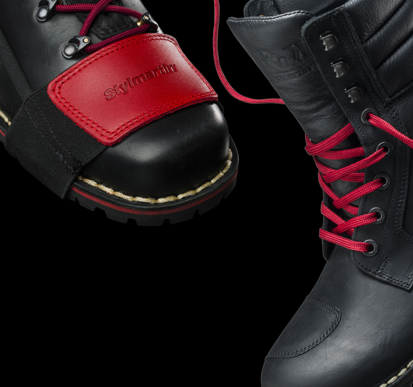 RED REBEL and Yu'Rok: the best Stylmartin boots with metropolitan style