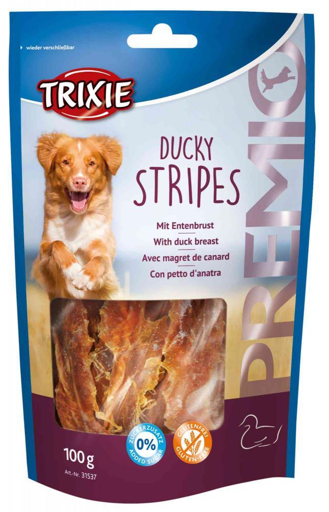 Trixie - Premio - Ducky Stripes 100gr
