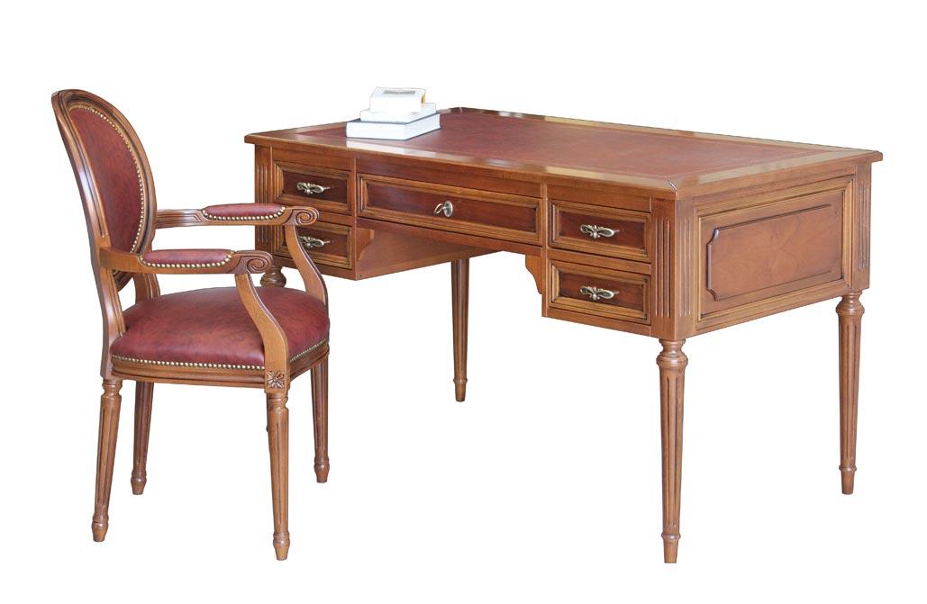 Scrivania Luigi XVI e sedia