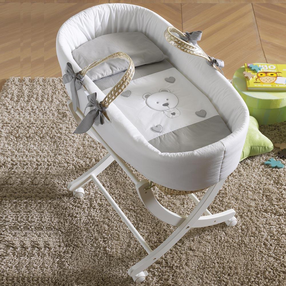 Sola base bianca per cesta porta enfant