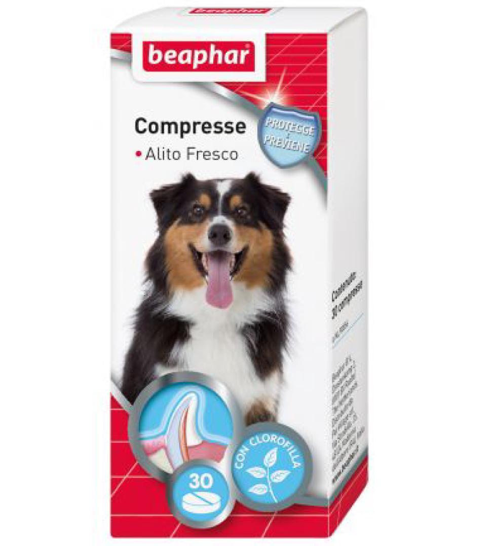 Beaphar - Compresse alito fresco - 30 compresse