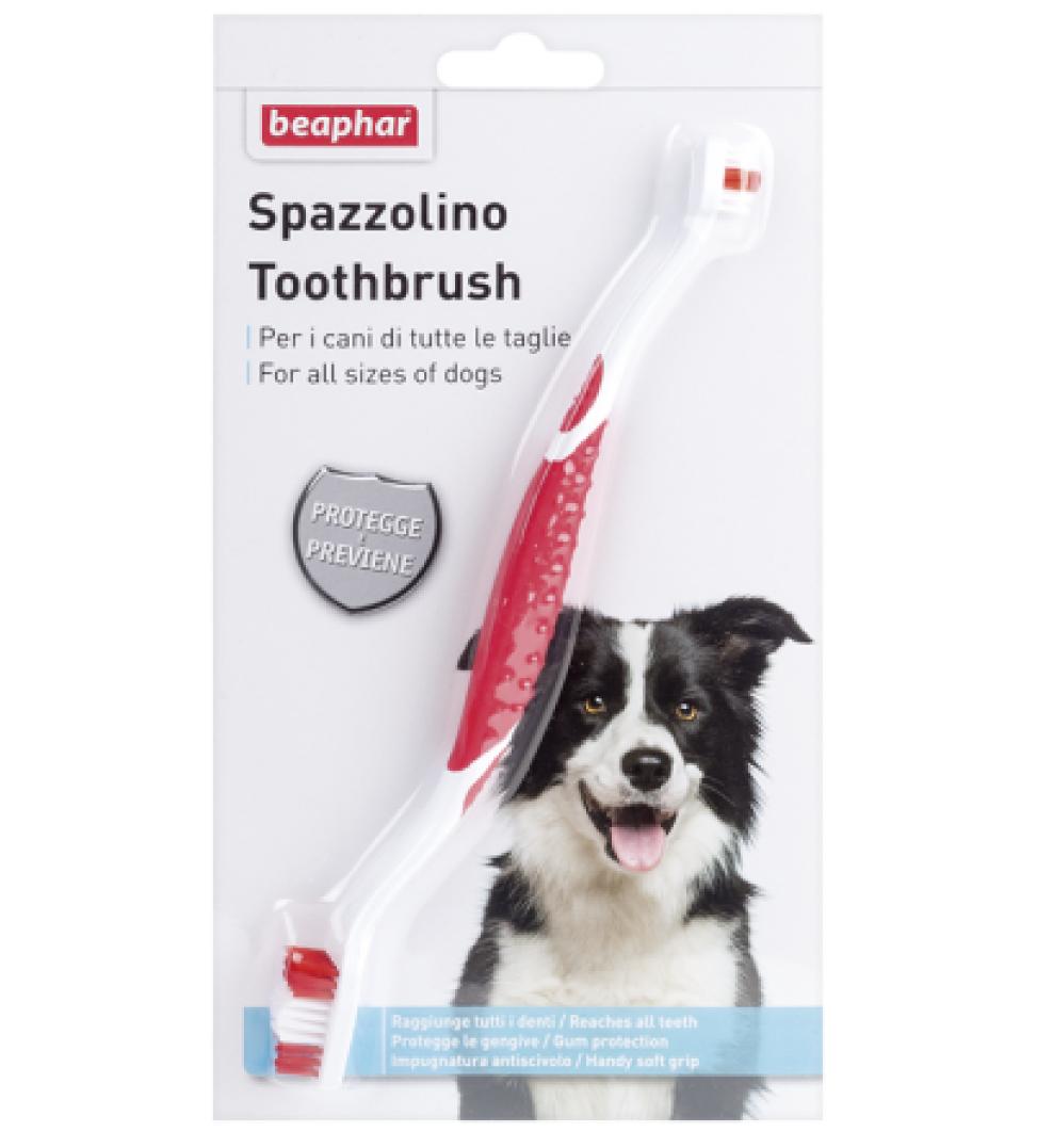 Beaphar - Spazzolino Denti doppio