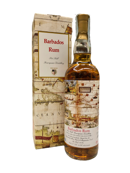 Rum Barbados 2006 2019 pot still Foursquare Distillery - Collezione Moon Import