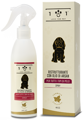 RIstrutturante spray con olio di argan