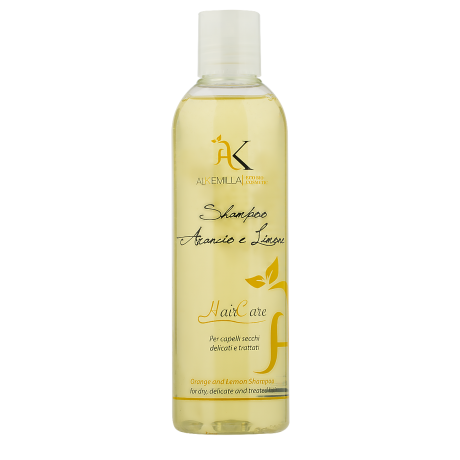 Shampoo Arancio e Limone capelli secchi delicati e trattati