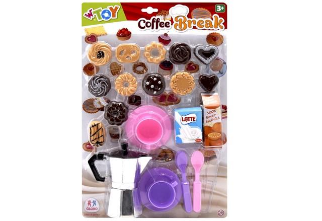 MOKA CAFFE. C/BISCOTTI E TAZZINE 39294 GLOBO