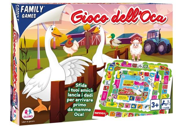 FAMILYGAMES GIOCO DELL.OCA 40317 GLOBO
