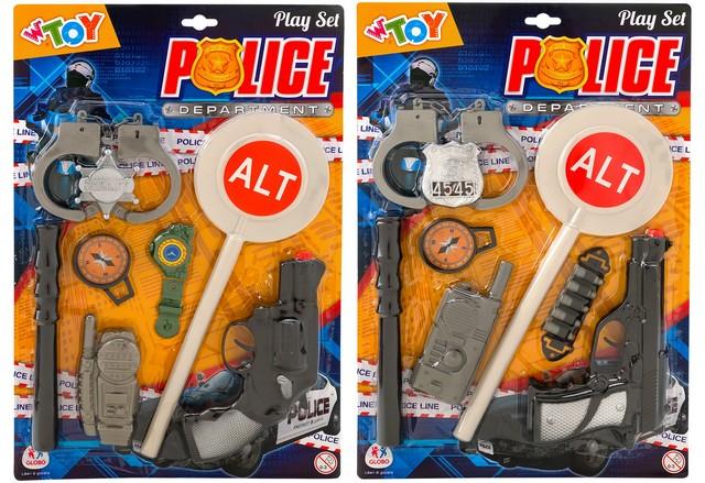 BL. SET POLIZIA C/PISTOLA/ACC. 38491 GLOBO
