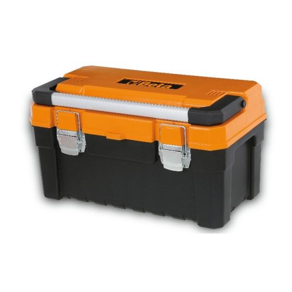 Cestello in materiale plastico con vano portaoggetti interno, vuoto - BETA C16