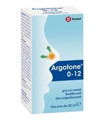 Argotone 0-12 soluzione nasale