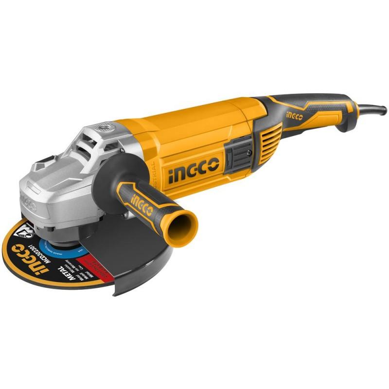 SMERIGLIATRICE ANGOLARE 230MM 2400W - INGCO AG24008E