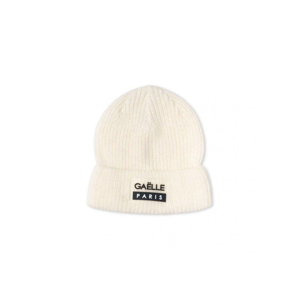 Cappellino bianco Gaelle Paris F/W 2021