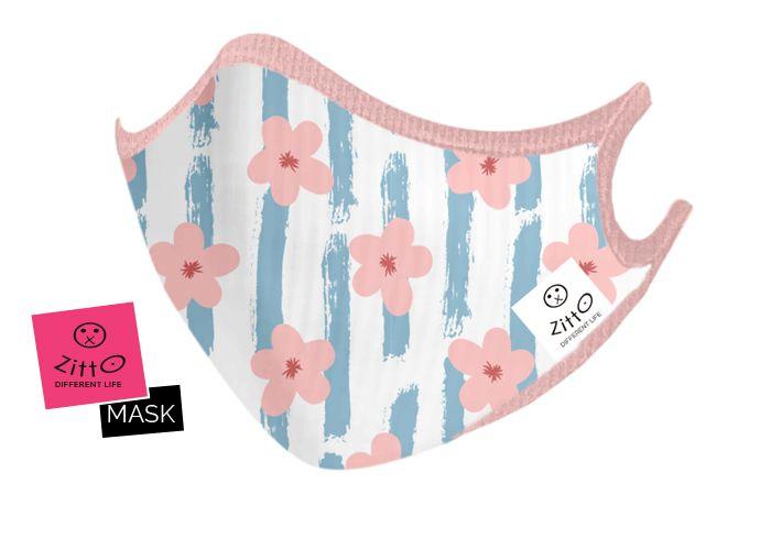 Zitto mask kids Flowers