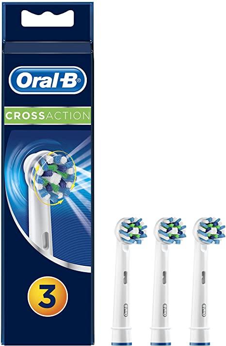 Oral-B Testina di ricambio CrossAction 3pz