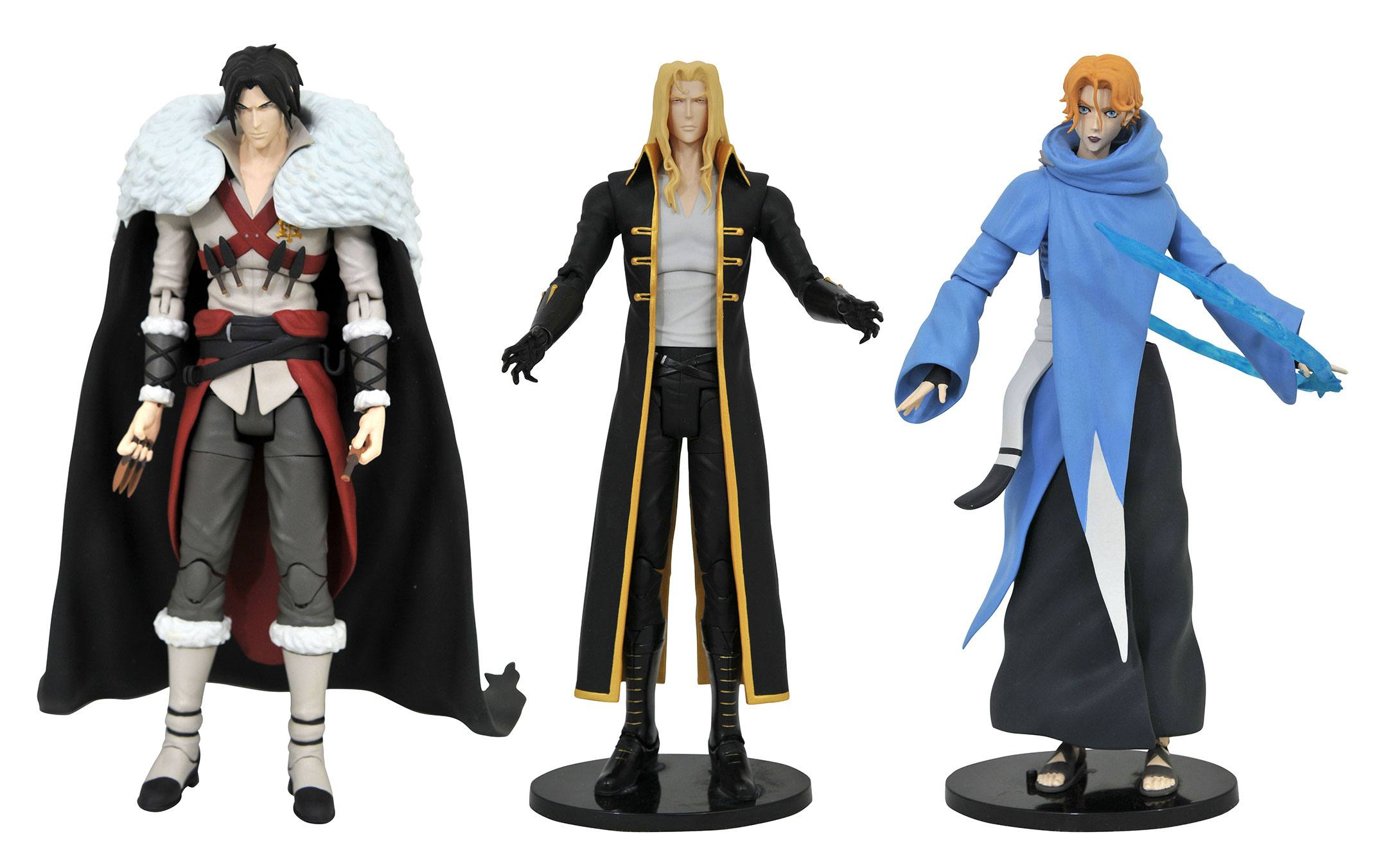 *PREORDER* Castlevania Action Figures: SERIE 1 COMPLETA by Diamond Select Toy