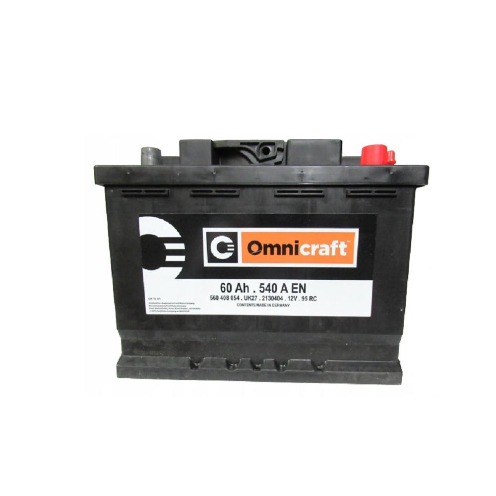 BATTERIA ORIGINALE FORD OMNICRAFT (EX MOTORCRAFT) 60Ah 540A 2130404