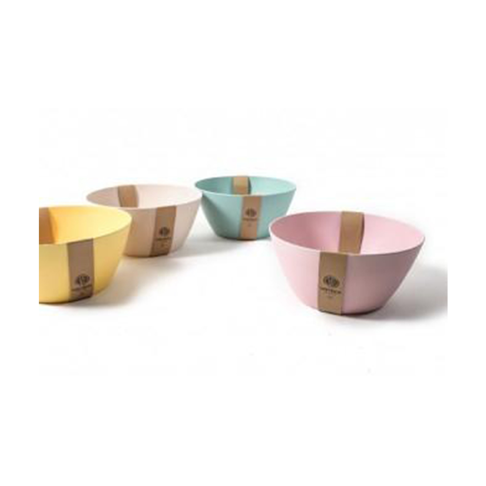 Mercury Insalatiera In Fibra di Bamboo 25 cm per La Cucina, Contentitori e Ciotole per la Casa