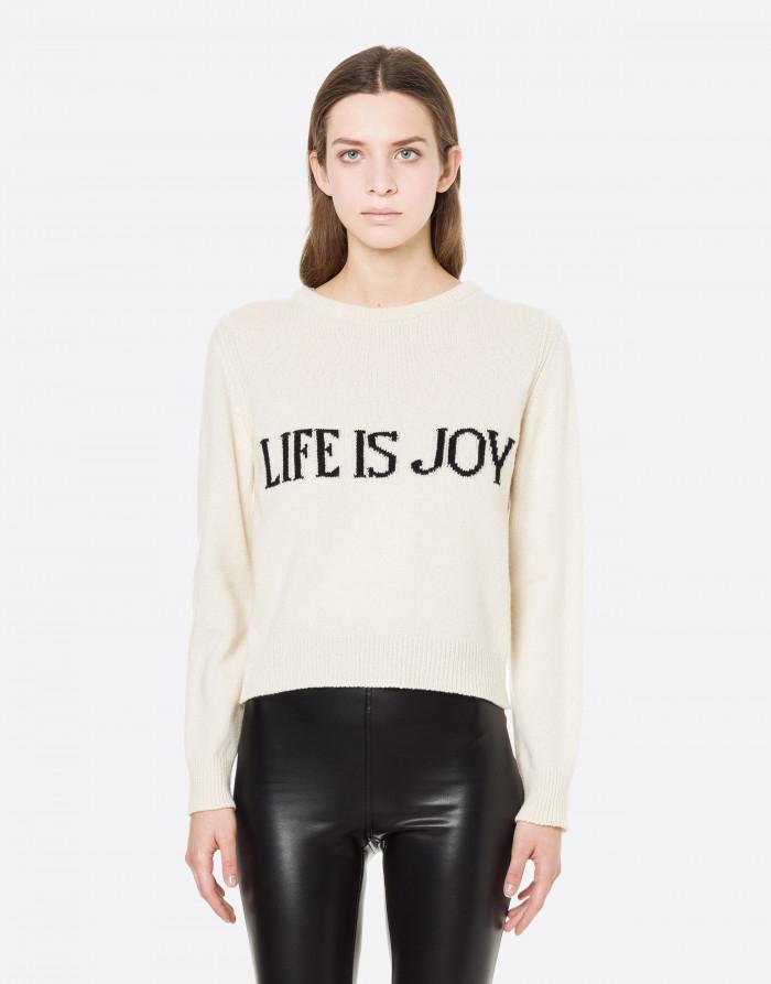 Maglione life is joy di alberta ferretti