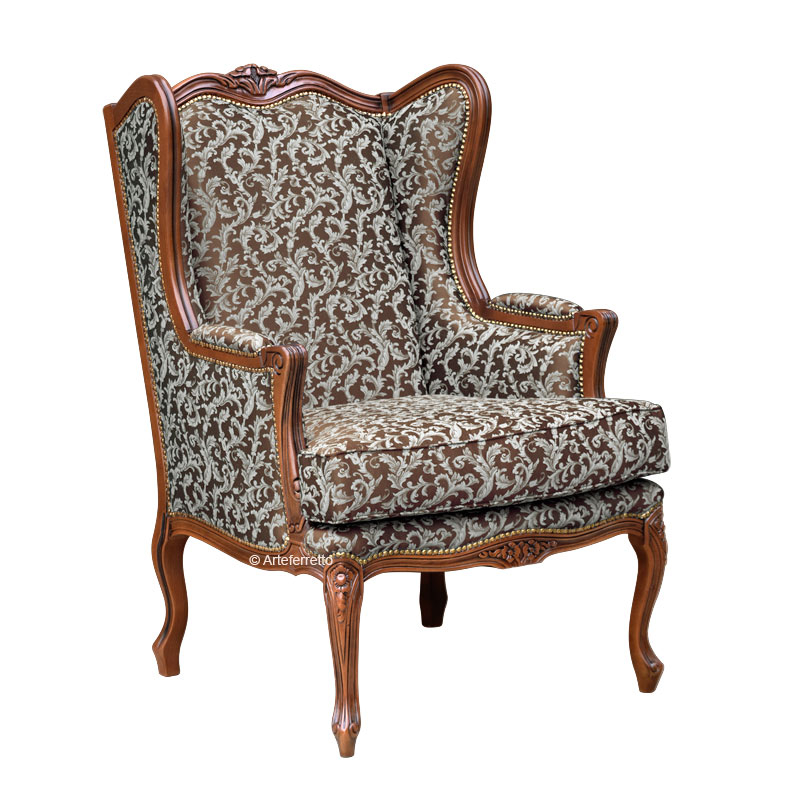 Armchair in Bergère style 'Soft'