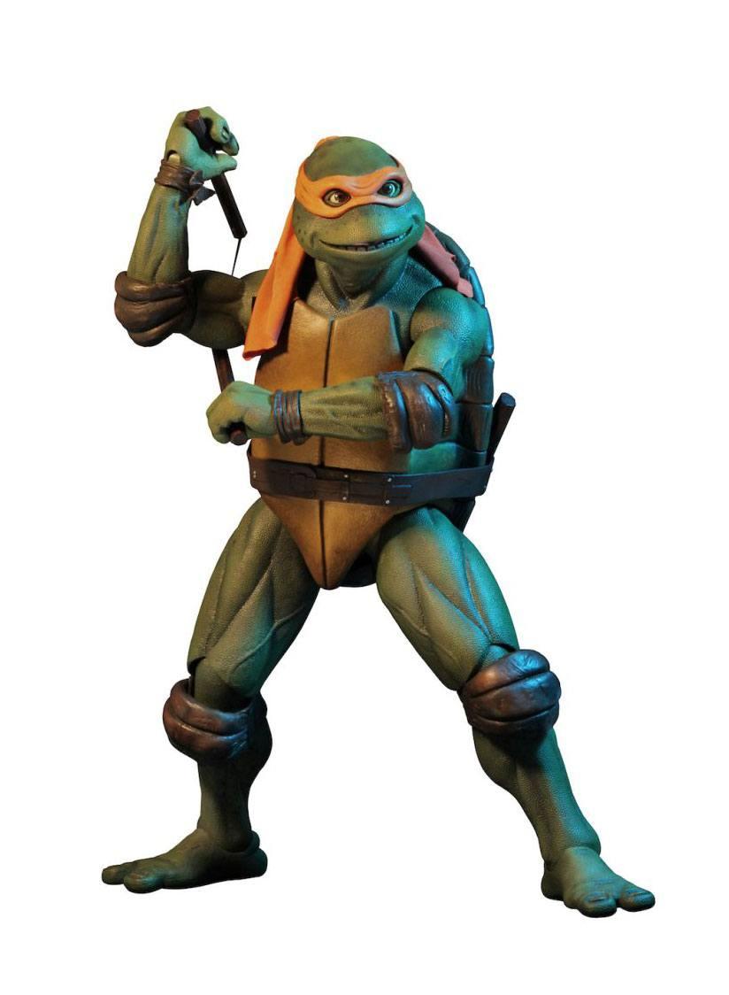 Teenage Mutant Ninja Turtles 1/4: MICHELANGELO by Neca