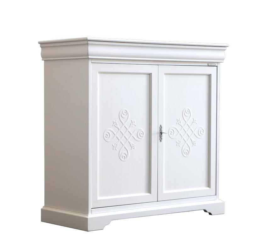 2 door lacquered unit in Luigi Filippo style 'YOU collection'