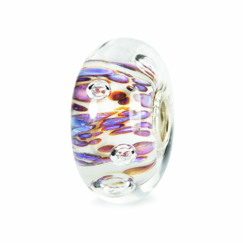 Beads Donna Cresta di Bolle Viola