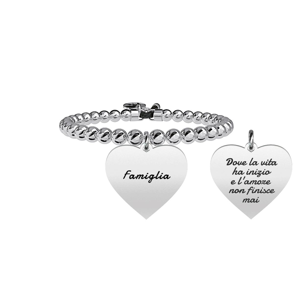 Bracciale Donna Family CUORE | FAMIGLIA