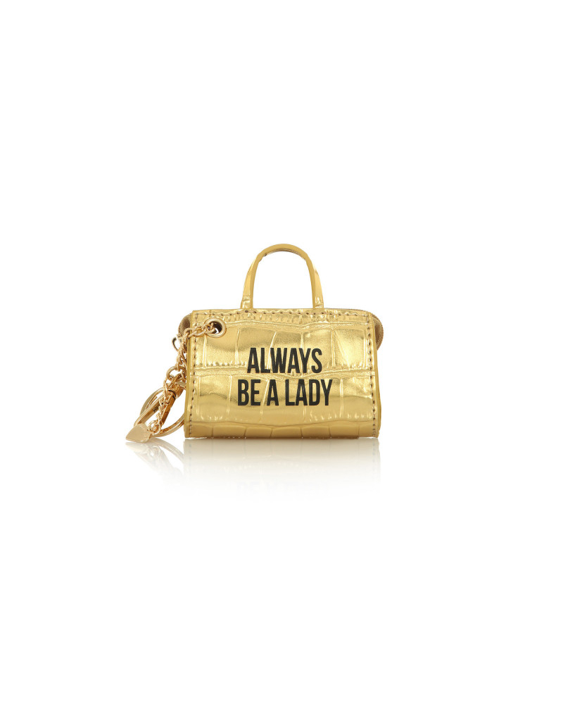 SHOPPING ON LINE LE PANDORINE TAG MINI BAG LADY GOLD NEW COLLECTION WOMEN'S FALL WINTER 2020/2021