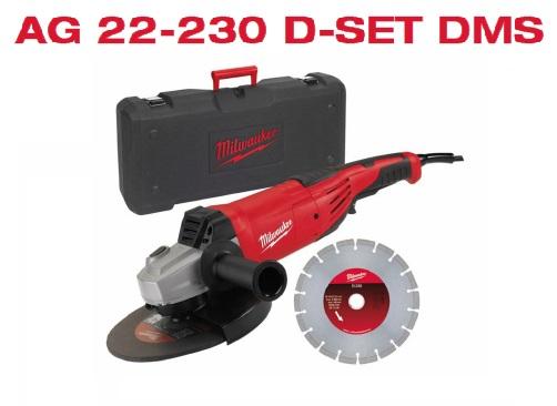 SMERIGLIATRICE DISCO 230MM 2200W CON DISCO