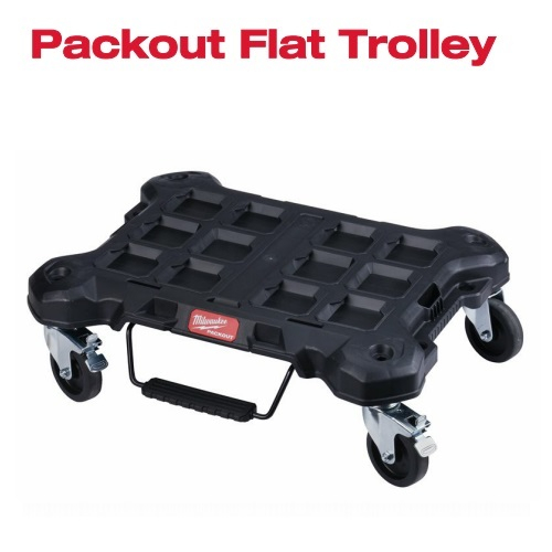 PACKOUT TROLLEY PIATTO CON RUOTE